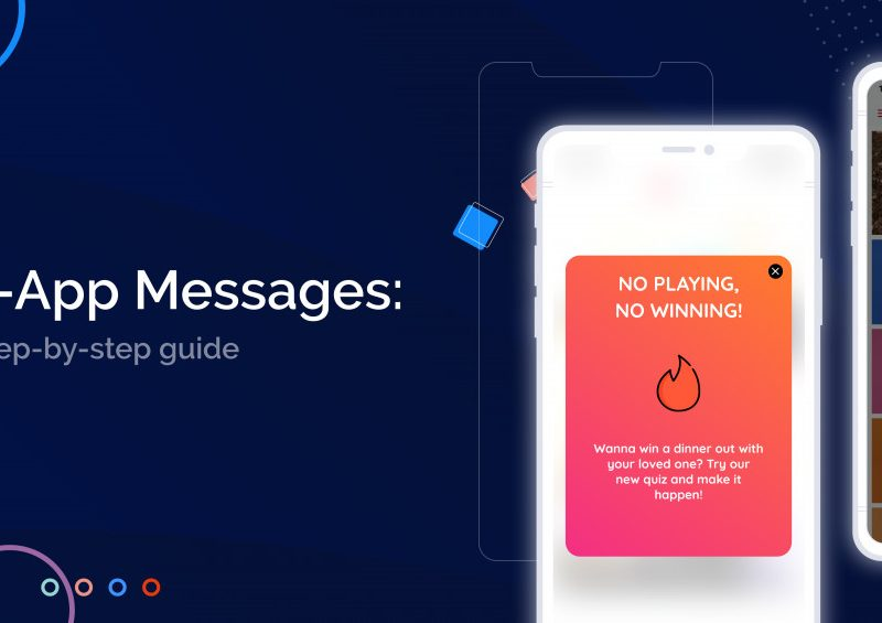 In App Messages a step-by-step guide